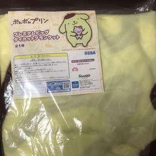 Sega Sanrio 布甸狗特大毛毯