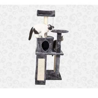 [REDUCED TO CLEAR] Luxurious High Quality 3 Tier 1 House Cat Condo (1.15m) (LWS170029)