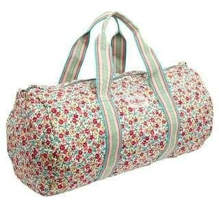 🆕全新!包郵! 英國CATH Kidston Foldaway Barrel Bag 可摺叠旅行袋
