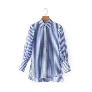 🔥Europe New Loose Lapel Long Sleeve Shirt Blouse