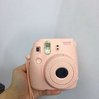 Instax mini 8 pink 即影即有相機
