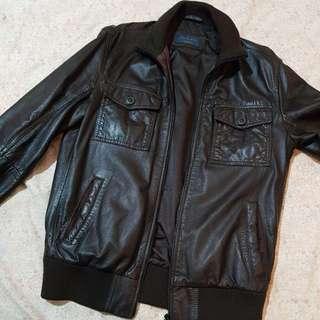 Leather jacket Zara