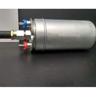 EXTERNAL FUEL PUMP OBUDDY 340LPH