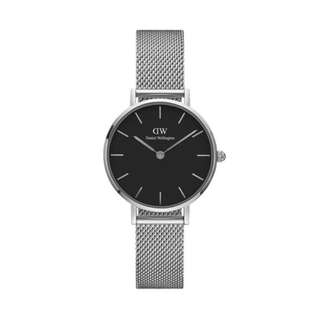 DW Classic Black Petite Sterling - 28mm | 32mm [Silver]