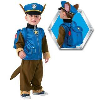 Paw patrol Chase Costume suit