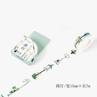 Washi Tape (Street Lamp) (Ref No.: 118)
