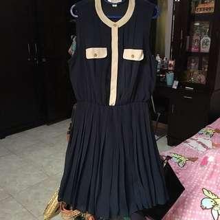 F21 Navy Dress