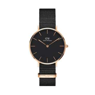DW Classic Black Petite Cornwall - 28mm | 32mm [Rose Gold / Silver]