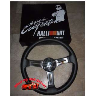 Ralliart Steering Wheel