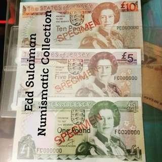 Specimen Banknote
