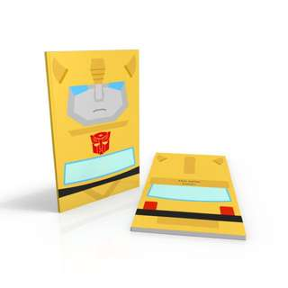 Cartoon Bumblebee - Transformers notebook