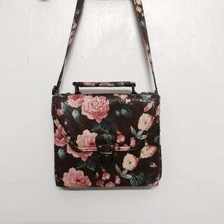 Floral Mini Satchel