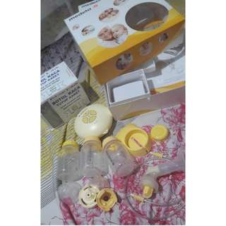 BREASTPUMP  ELECTRIC MEDELA SWING +  DOT CALMA PRELOVED BREASTPUMP POMPA ASI ELEKTRIK