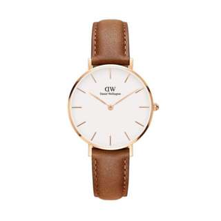 DW Classic Petite Durham - 28mm | 32mm [Rose Gold / Silver]