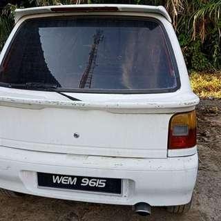Kancil 660 auto tahun 96