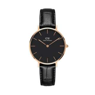 DW Classic Black Petite Reading - 28mm | 32mm [Rose Gold / Silver]