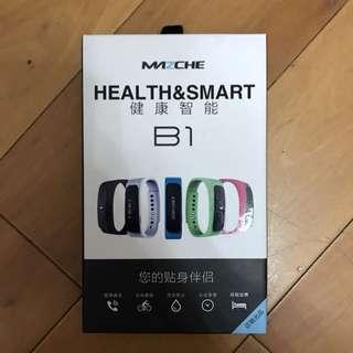 智能手錶 全新 健康智能 mazche B1 黑色 smart watch