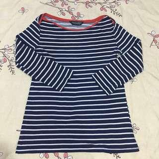Dorothy Perkins Blue Stripes Tops