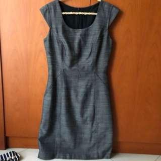 The Executive grey dress