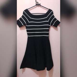 AVENUE DRESS BLACK