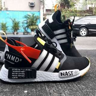♥🔥HOTTEST DROP  🔥ADIDAS NMD OFF- WHITE  for MEN  ✈️ 🚚 Free Shipping Nationwide!  • Available Size:  Men's size: US size 8.5 / 9.5 / 10 / 11 / 12 Men's size: Euro size 42 / 43 / 44 / 45 / 46