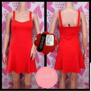 H&M Red Swing Dress