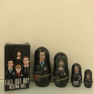 Fall Out Boy Nesting Doll