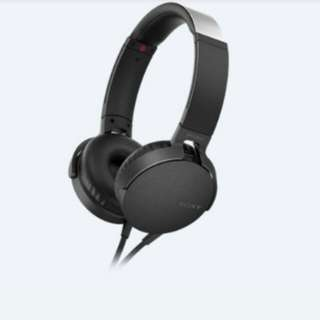 SONY XB550AP EXTRA BASS Headphones