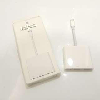 Apple USB-C Digital AV Multiport 轉換器 100% 原裝正貨