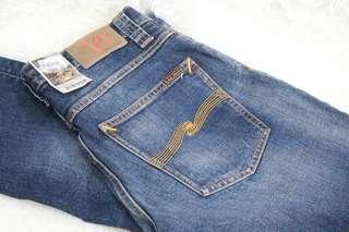 Nudie Jeans w Orange Thread (Grim Timm) size 31