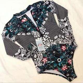 Long Sleeve Rashguard Swimwear