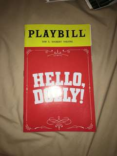 Hello Dolly Playbill (Donna Murphy LAST SHOW)