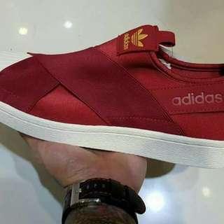 "Adidas Supestar slip-on ""red"""