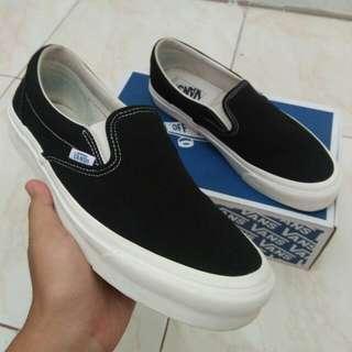 Vans Slip On OG Black White