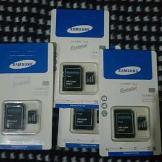 SAMSUNG SD CARD 16GB (ORIG) limited stocks only.