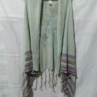Shawl cover up