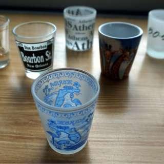 Collectible Shot Glasses (8 pcs)