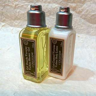 L'OCCITANE Travel Set (Shower Gel and Body Lotion) 30ml x 2pcs