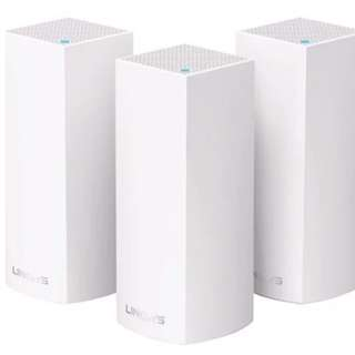 Linksys Velop AC6600 - 3 nodes/ system mesh wifi router