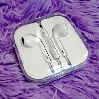 Apple Earpods with travelling case (With warranty, Deep Bass, Solid Sounds Quality) Order now