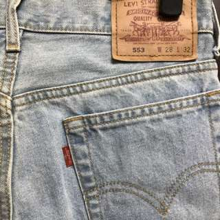 🚚 Levi's 553 直筒牛仔褲 W28L32