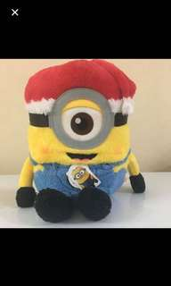 Jumbo Disney santa minion plush toy Japan original with tags get now