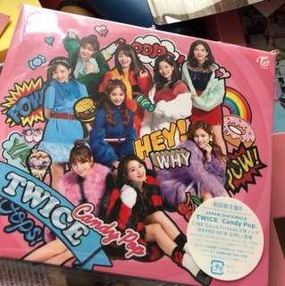 全新未拆 TWICE Candy Pop 日專 B Ver