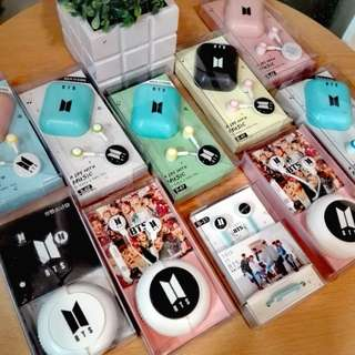 "BTS Headset for Android and IOS Phone ""BTS New Edition"" Very affordable :)"