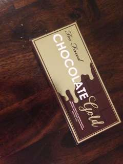 Too faced chocolate gold eyeshadow