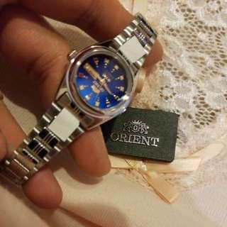 新款Orient籃錶面