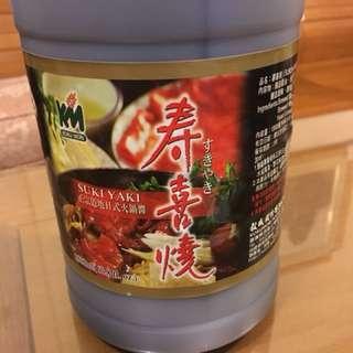 💕💕穀盛 壽喜燒日式火鍋醬1800毫升