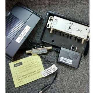 菁華278A40地面高清UHF DTMB電視信號放大器