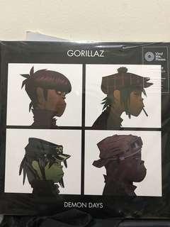 Gorillaz - Demon Days Limited Edition LP Vinyl Coloured