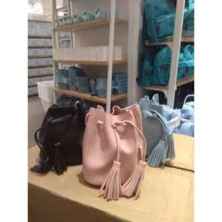 Original tas selempang MINSO bucket bag slingbag